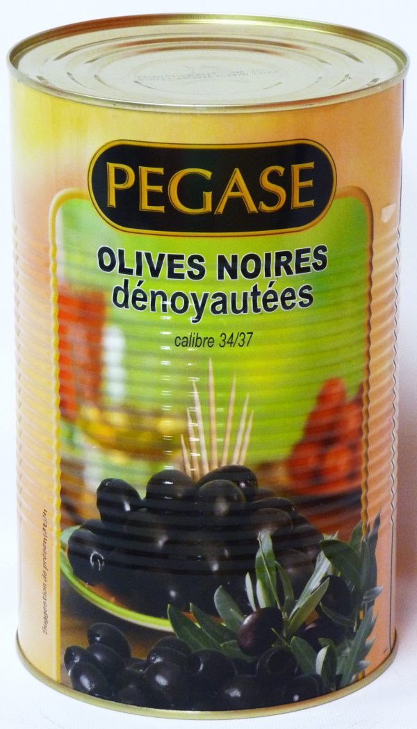 OLIVES NOIRES DENOYAUTEES 5/1