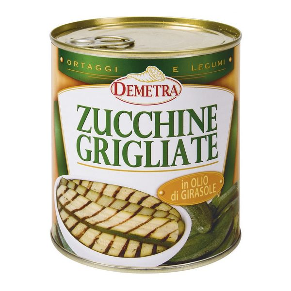 COURGETTES GRILLEES 4/4 DEMETRA