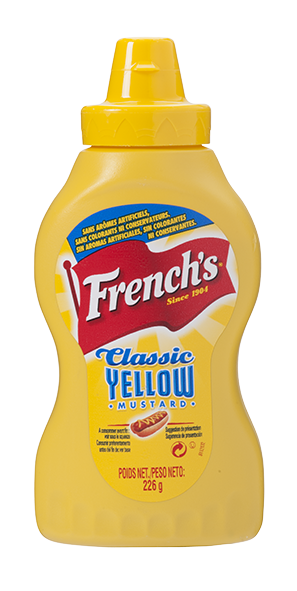 MOUTARDE FRENCH'S CLASSIC YELLOW MUSTARD
