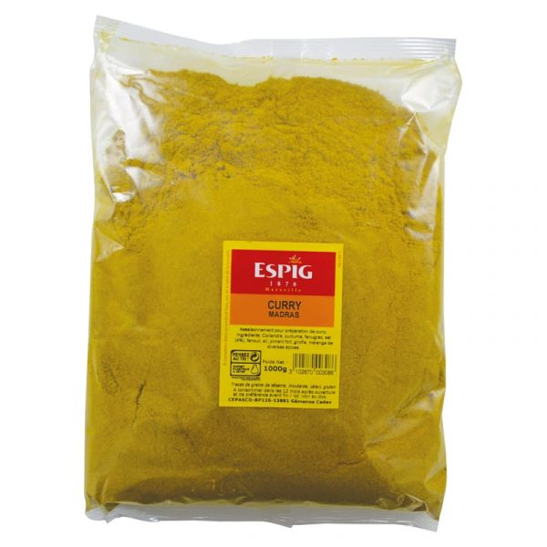 CURRY SELECTION SACHET 1 KG