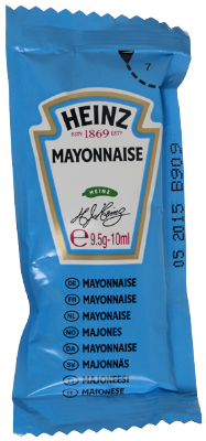 MAYONNAISE HEINZ DOSETTE 200* 10 ML