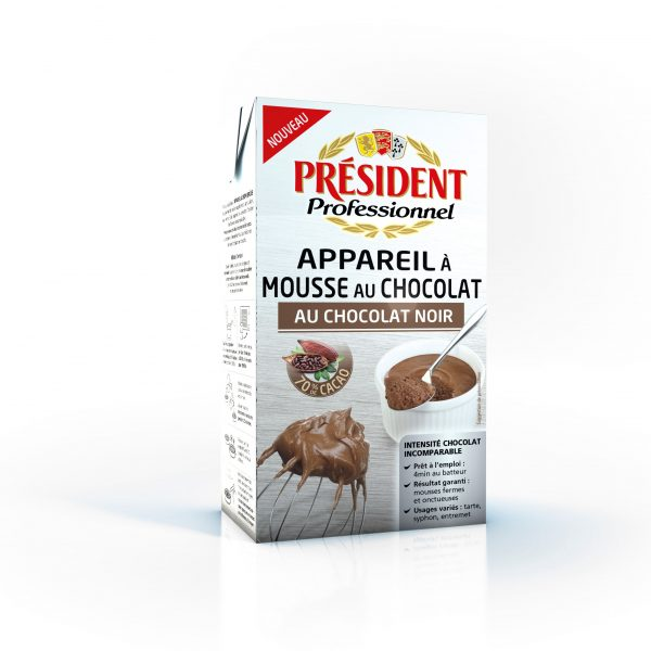 PREPARATION MOUSSE CHOCOLAT UHT PRESID 1 L
