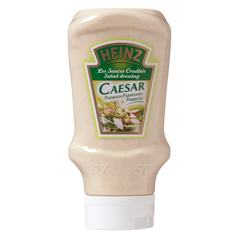 SAUCE CAESAR TOP DOWN HEINZ SQUEEZ DE 400 ML