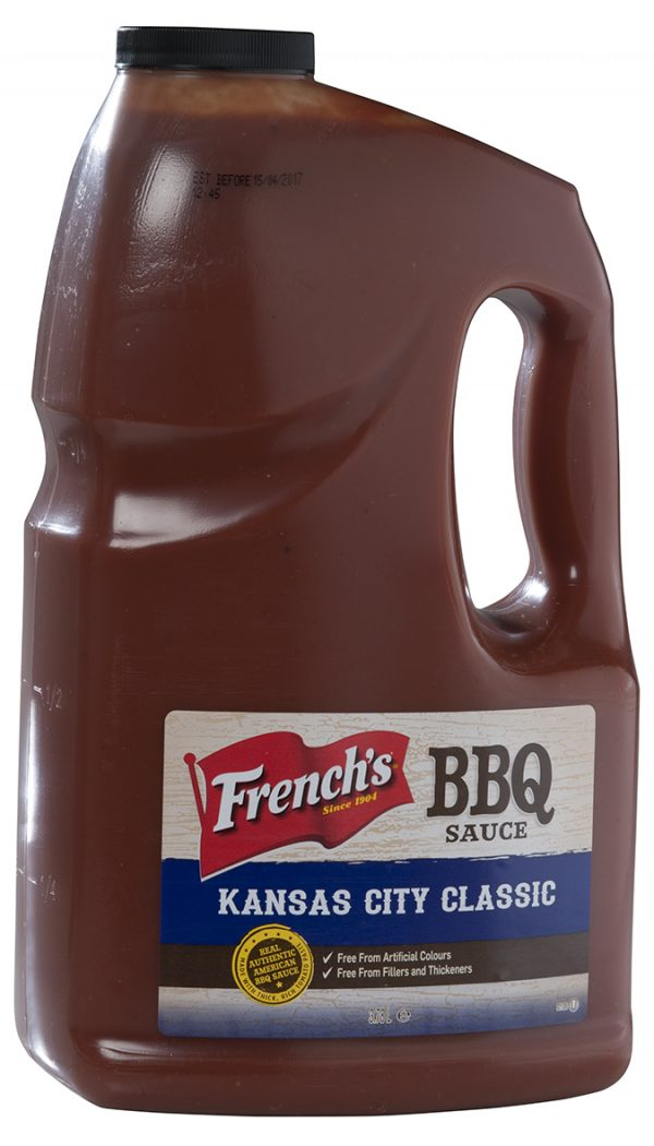 SAUCE BBQ KANSAS CITY BIDON 3.78 L