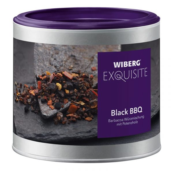 SEL AROMATIQUE BLACK BBQ WIBERG 340 G