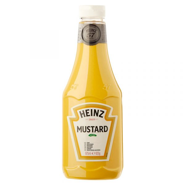 MOUTARDE SNACK SAUCE HEINZ 875 ML