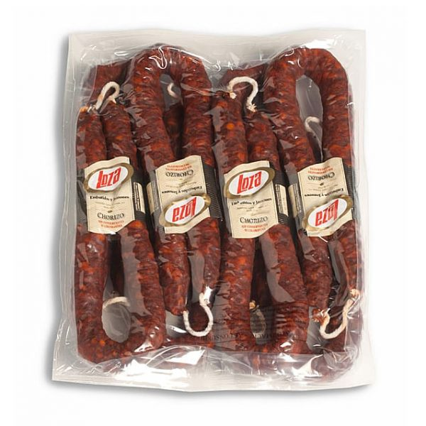CHORIZO COURBE FORT ARTISANAL SANS ADDITIF 280GR LOZA
