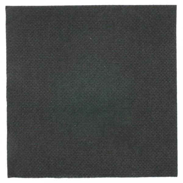 SERVIETTES ECOLABEL DOUBLE POINT NOIR 18G 20X20 *24