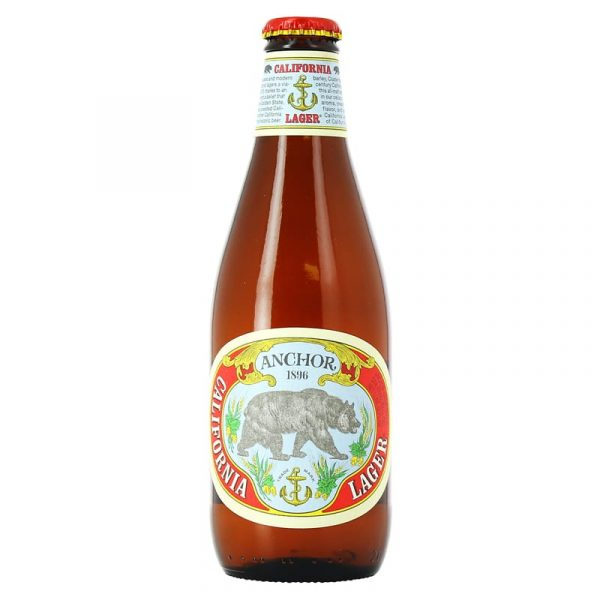 BIERE ANCHOR CALIFORNIA LAGER 35.5 CL /24